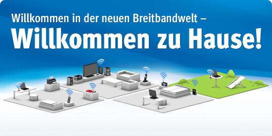 Breitbandwelt von AVM